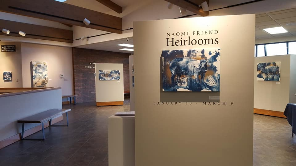 Heirlooms Exhibition by Naomi Friend