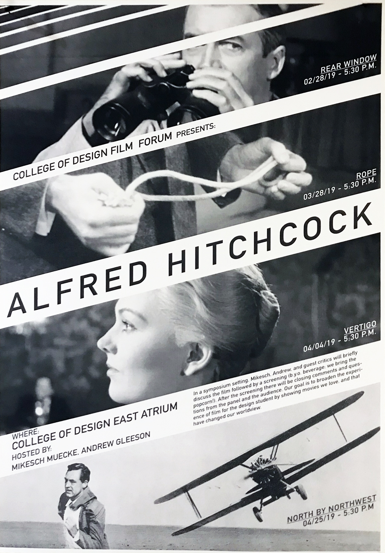 Film Forum 2019 Alfred Hitchcock
