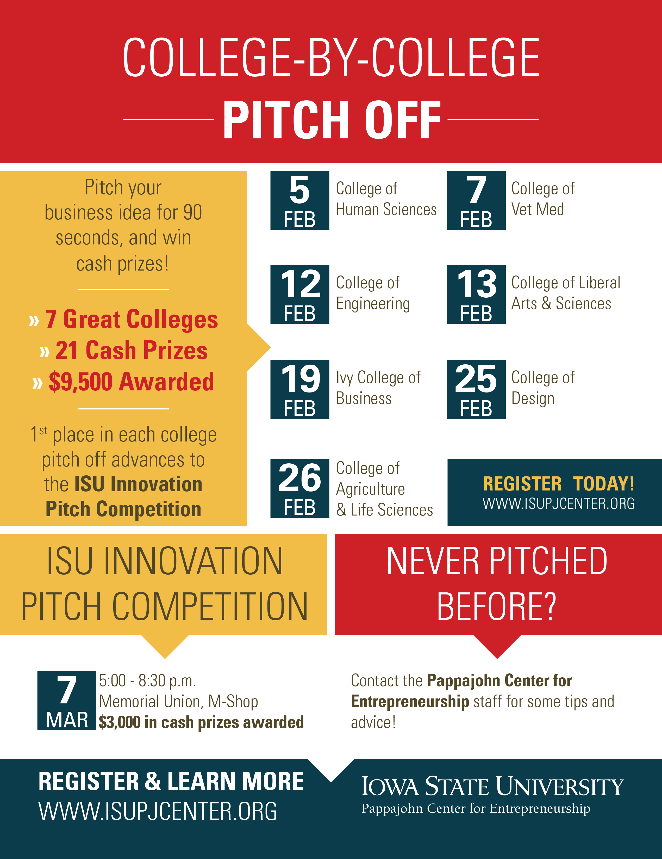 College by College Pitch