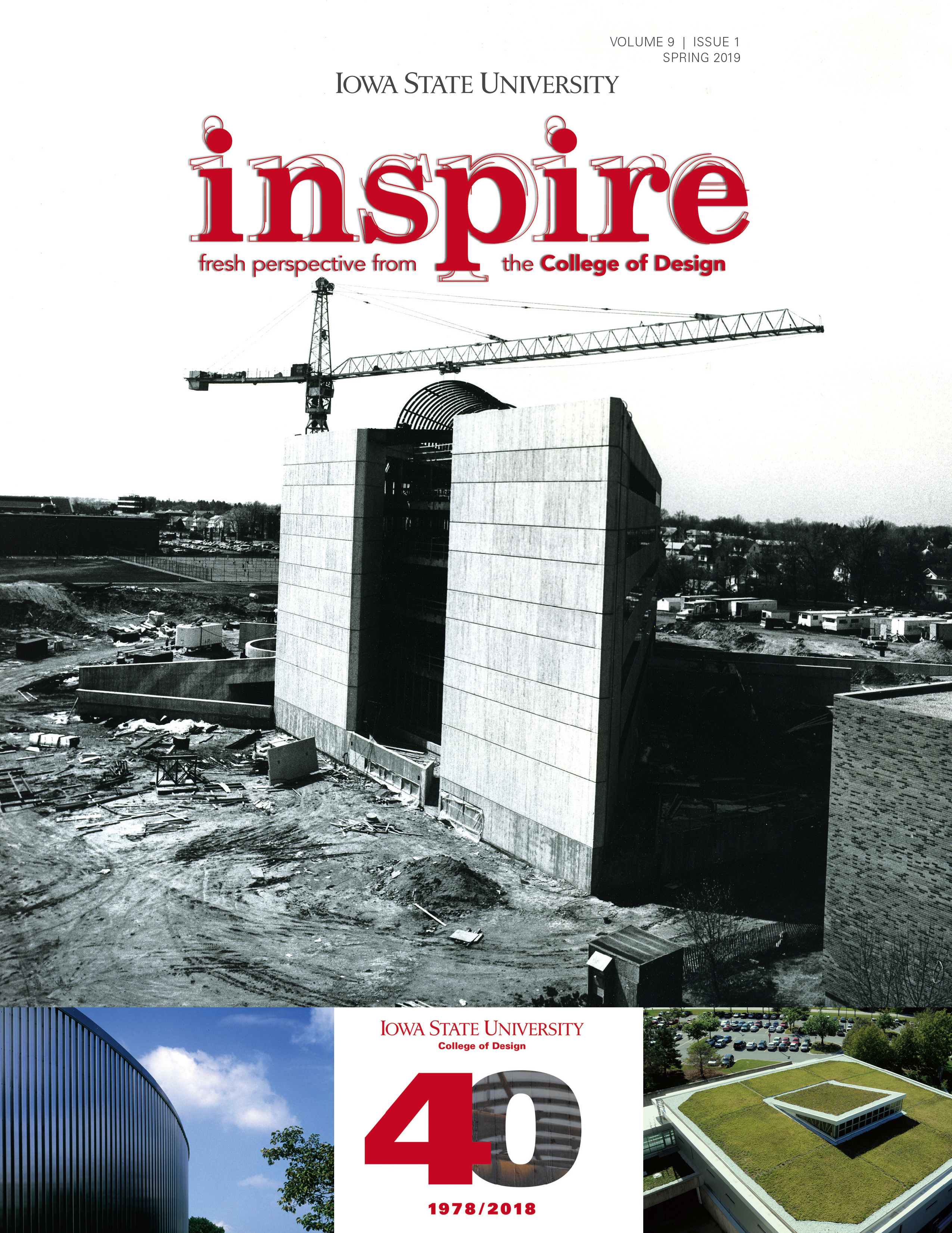 Inspire Spring 2019 Cover