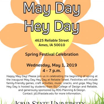May Day Hey Day Spring Celebration