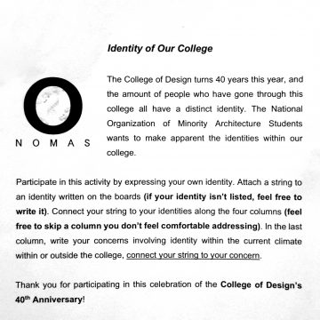 Our College Identity