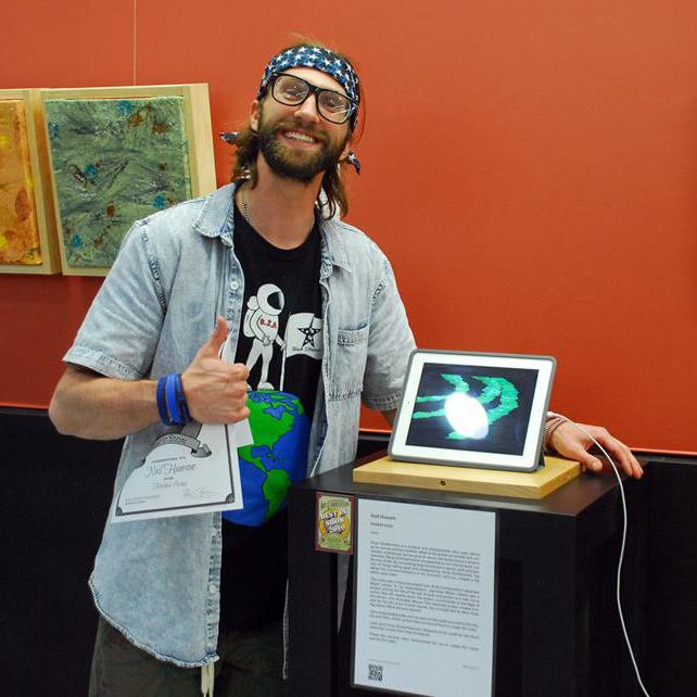 """Neil Hanson received Best in Show for his video """"Flushed Away"""""""