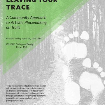 The Value of Leaving Your Trace: A Community Appro