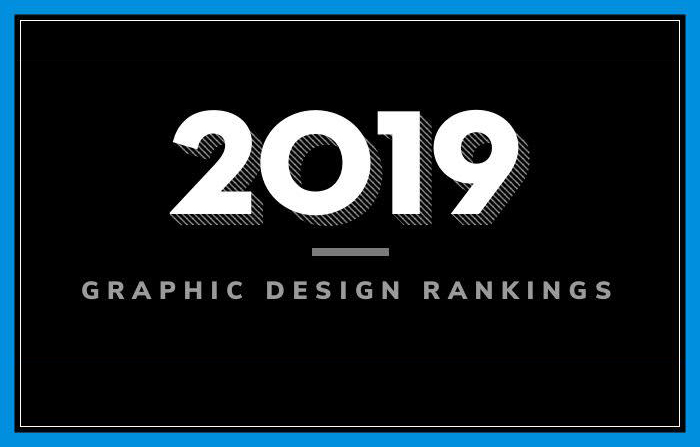 Graphic Design Rankings 2019