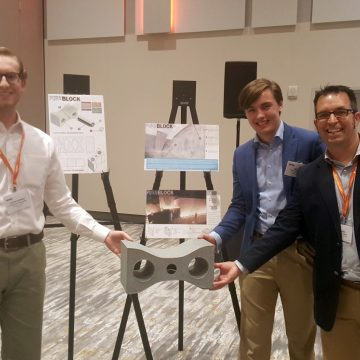 Iowa State students win national concrete masonry