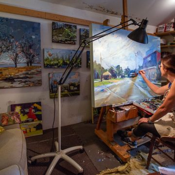 Iowa State artist wants to find 'what'