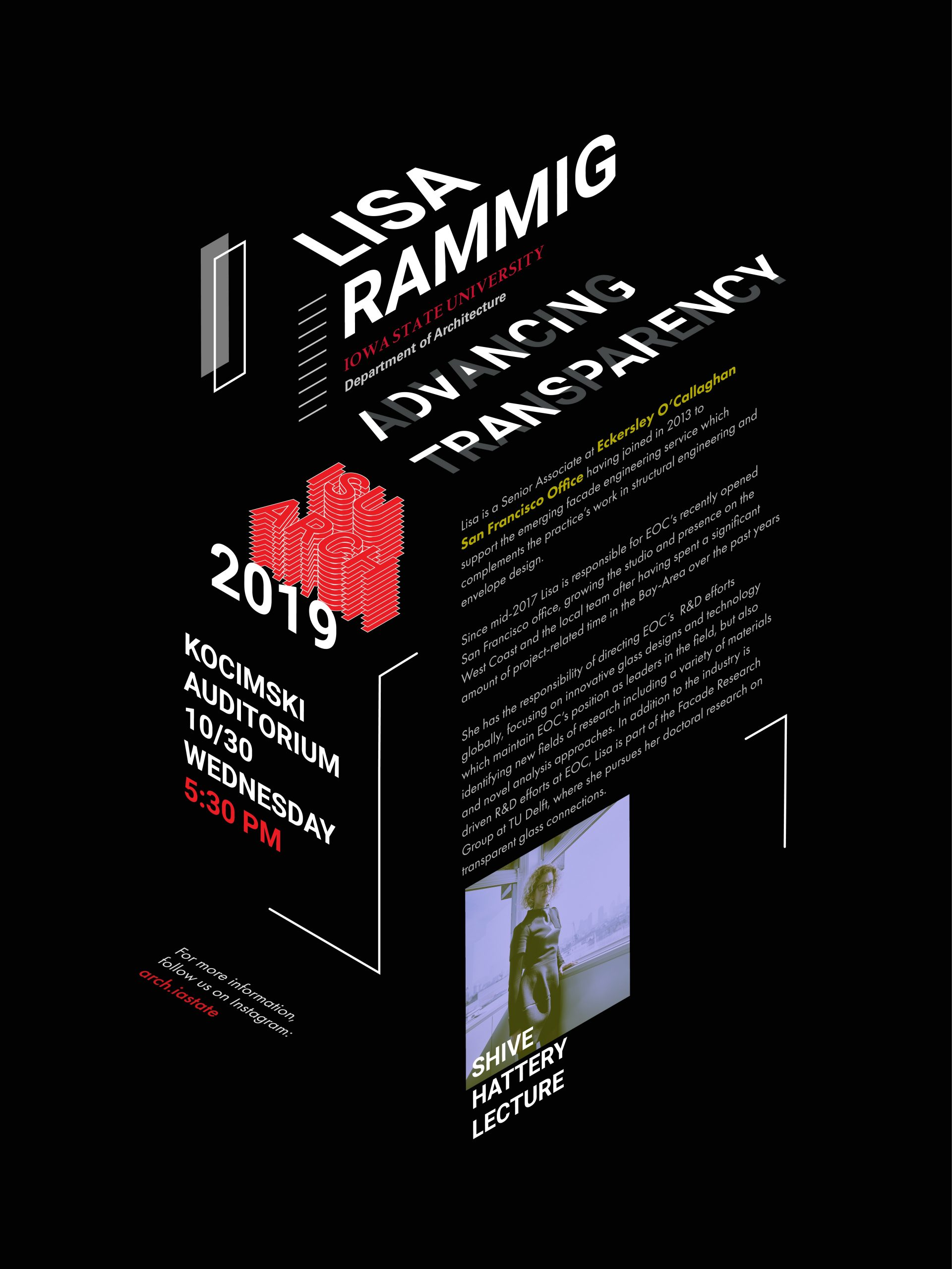Lisa Rammig Lecture Poster