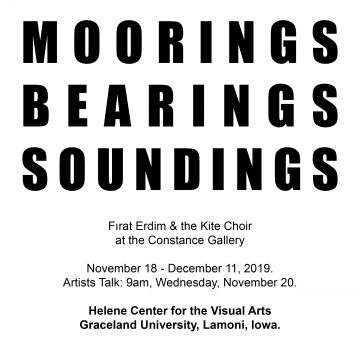 Moorings, Bearings, Soundings: Firat Erdim &