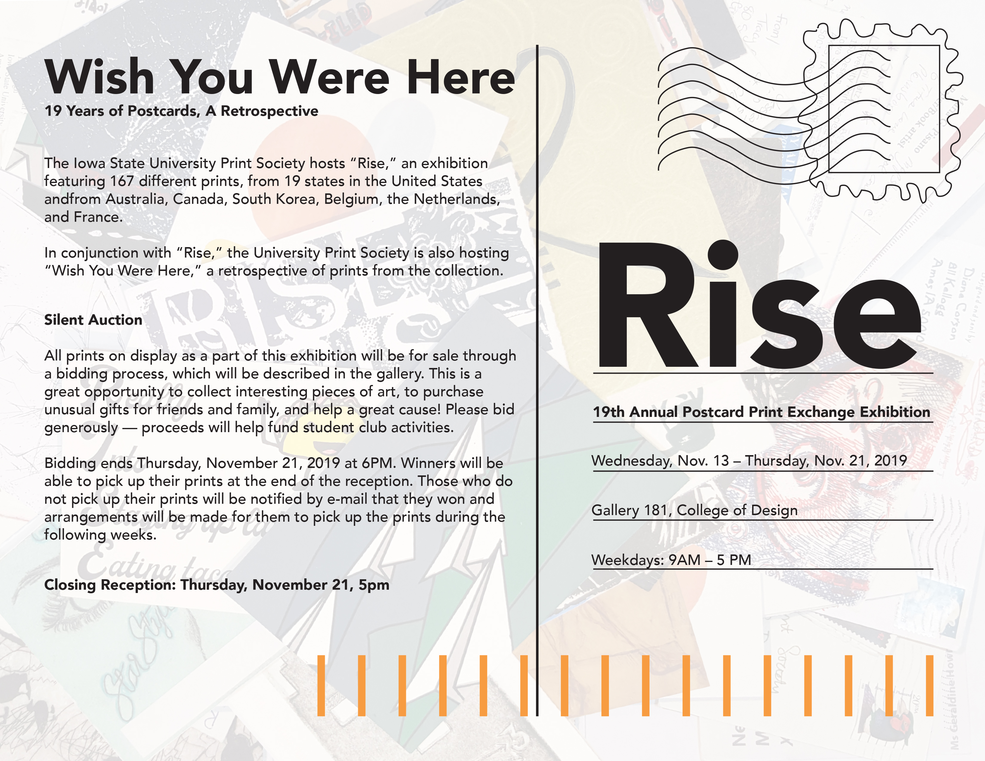 Rise Exhibition Poster