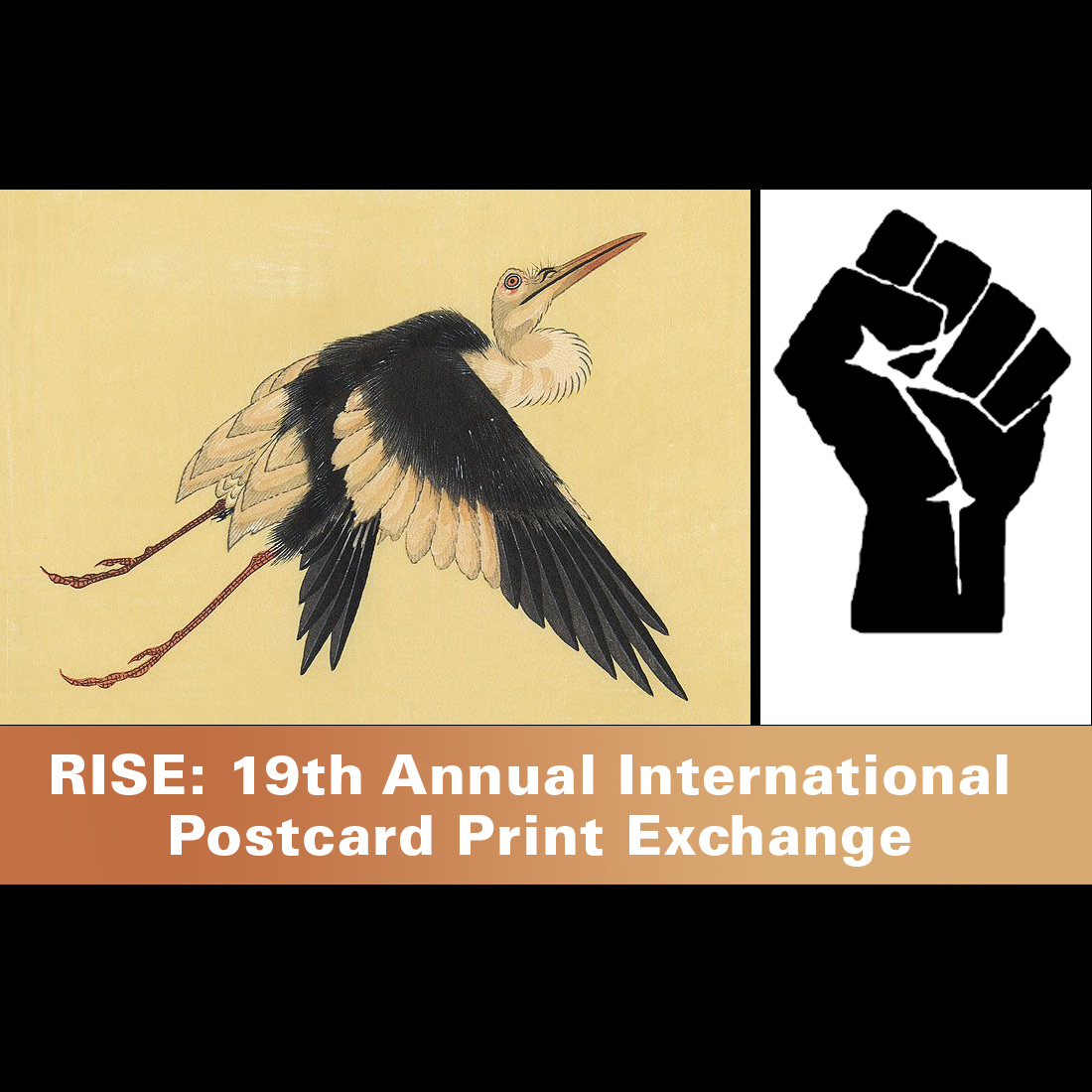Rise 2019 Postcard Print Exchange