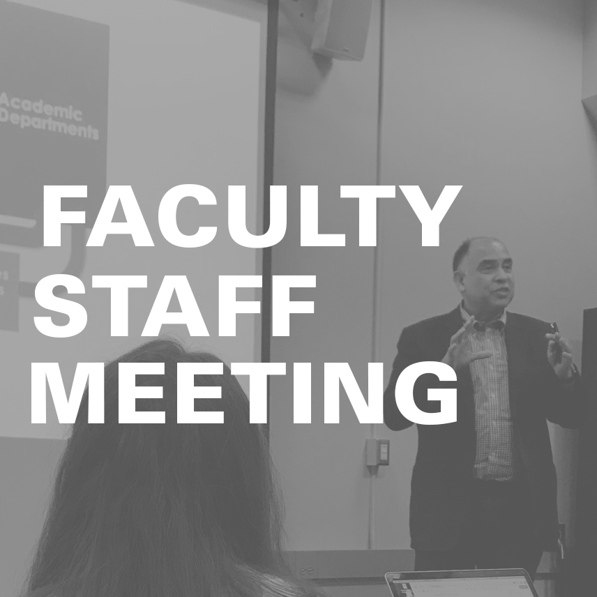 Faculty Staff Meeting