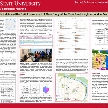ISU College of Design students' research recogni