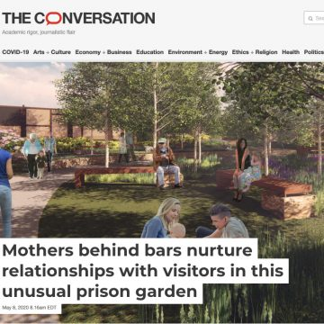 Mothers behind bars nurture relationships with vis