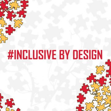 #InclusiveByDesign drop-ins, virtual discussions w