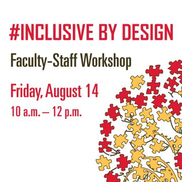 Inclusive by Design Faculty-Staff Workshop