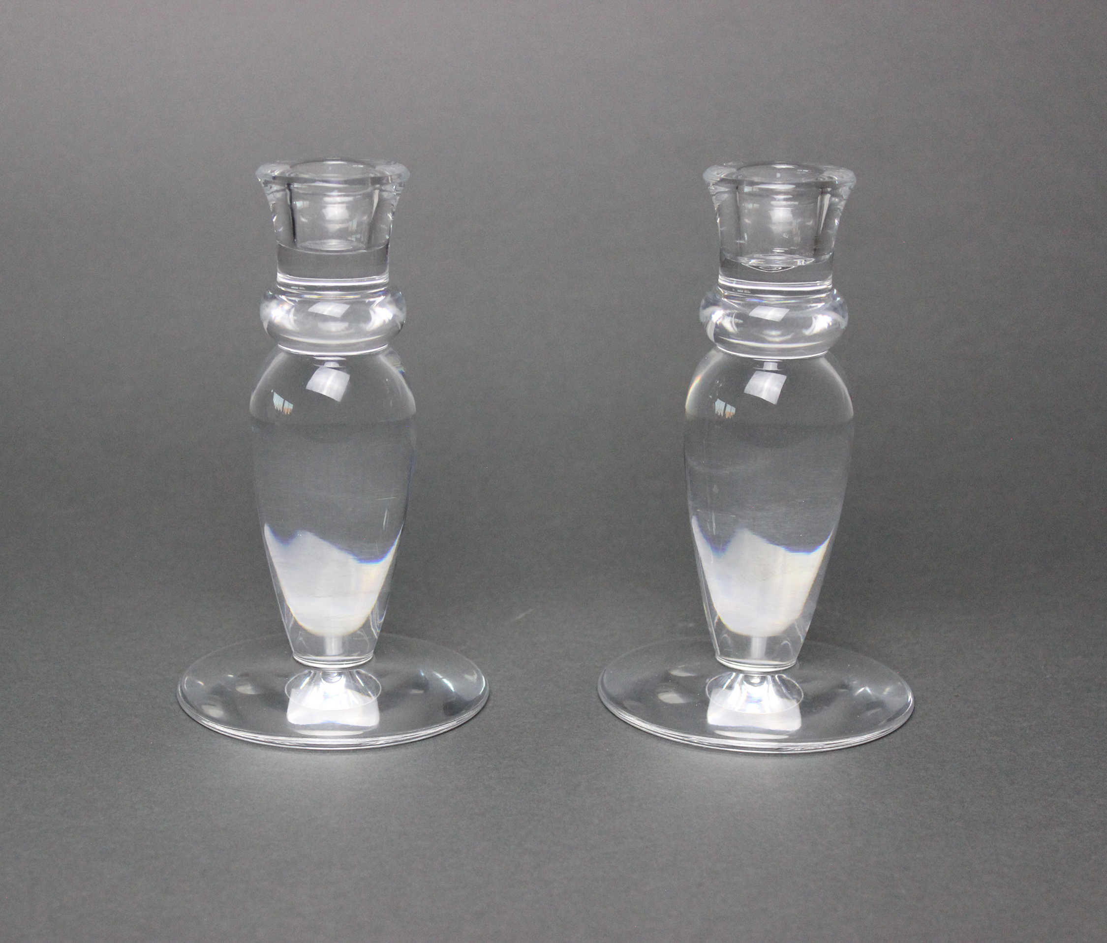 Will Prindle Candlestick Design for Steuben