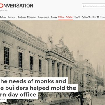 How the needs of monks and empire builders helped