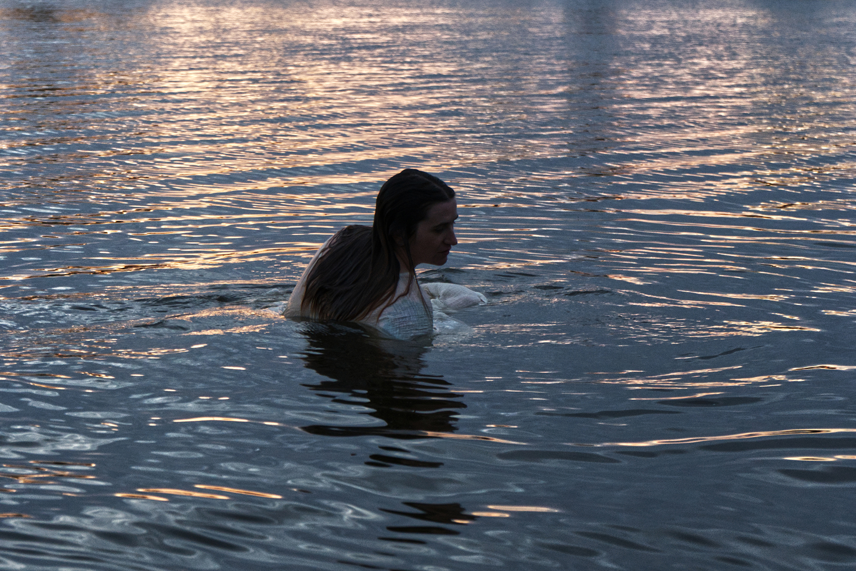"""Baptism"" (Image from Performance Art/Installation) by Paige Holzbauer"