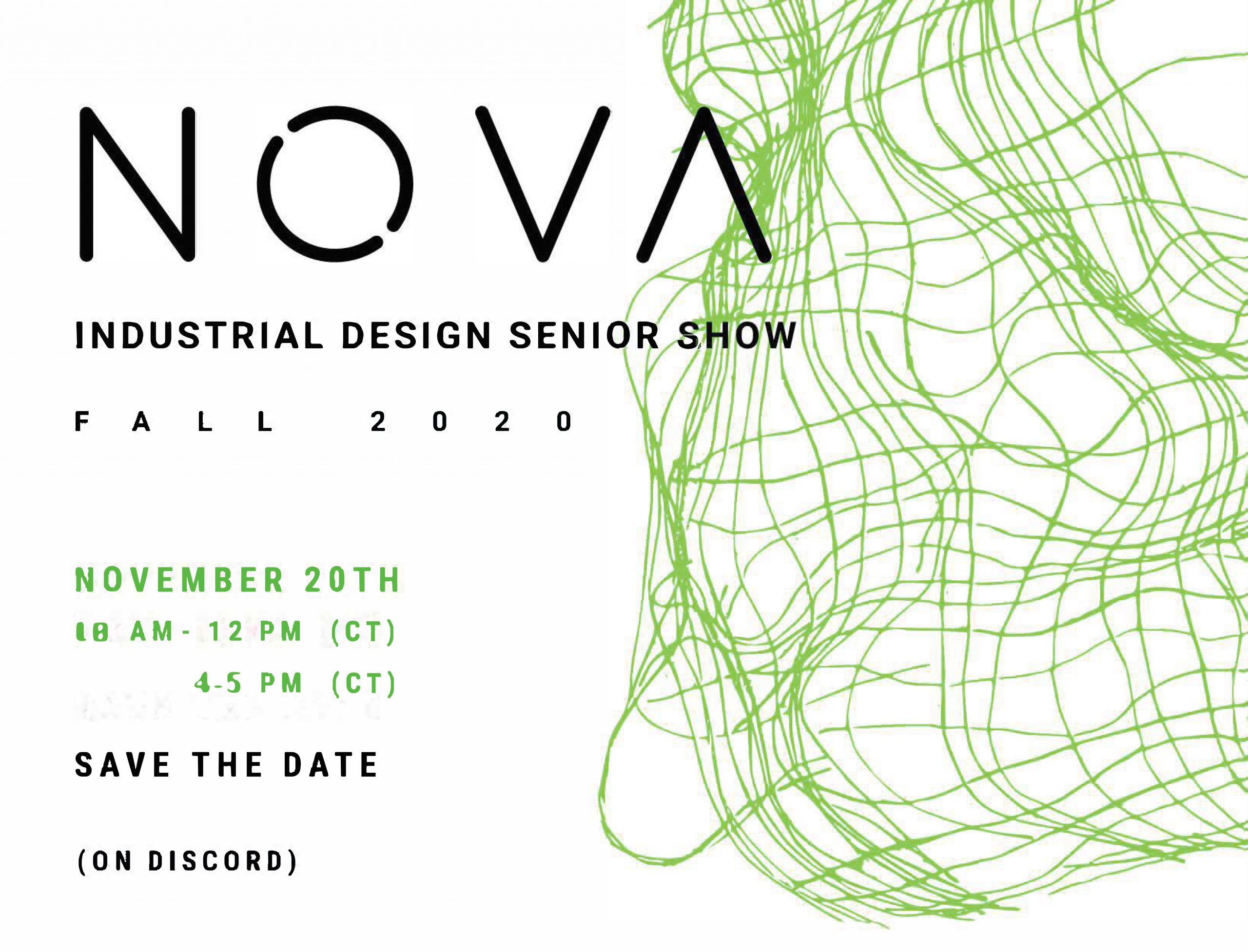 INDD Fall 2020 Senior Show Save the Date