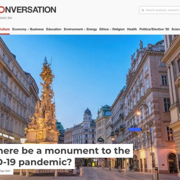 Will there be a monument to the COVID-19 pandemic?