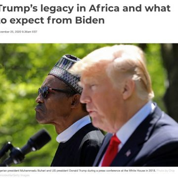 Trump's legacy in Africa and what to expect