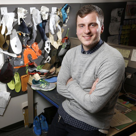 Graduating with a double major in industrial design & apparel design, Colin Behr became a footwear designer for Nike Sportswear. He has been at Nike for 5 years, where he is currently a Footwear & Apparel Color Concept Designer.