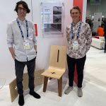 Samuel Christianson & Nathan Miklo at the Freshwood student competition in Las Vegas