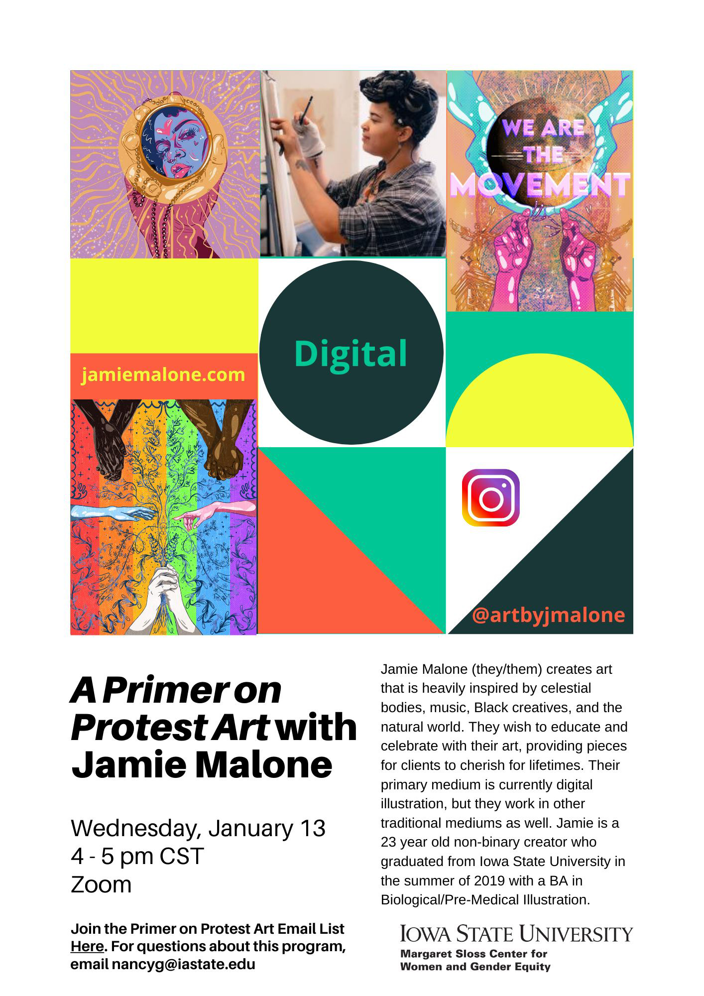 Jamie Malone - A primer on protest art