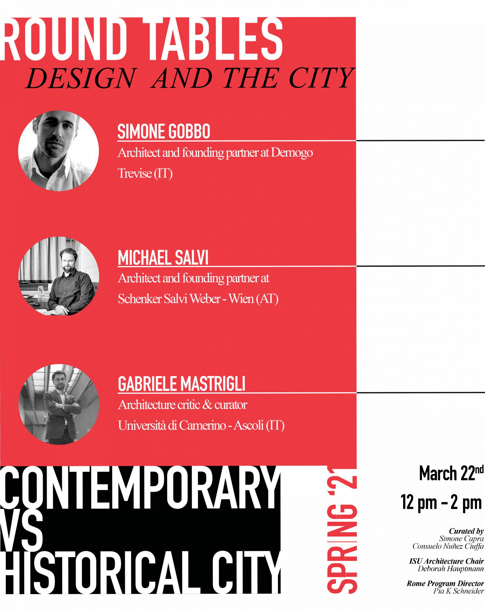 Design and the City Round Tables Session II