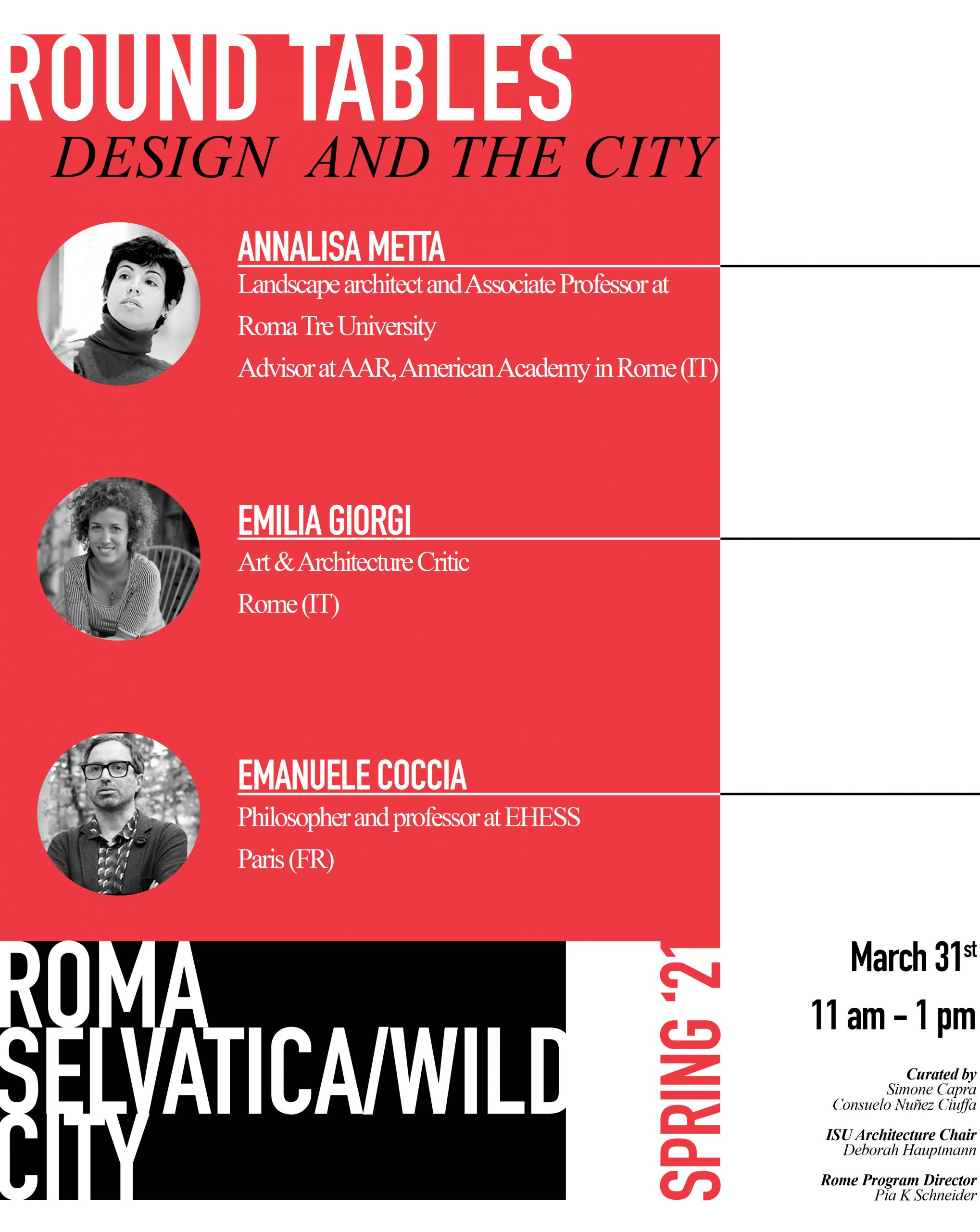 Design and the City Round Tables Session III