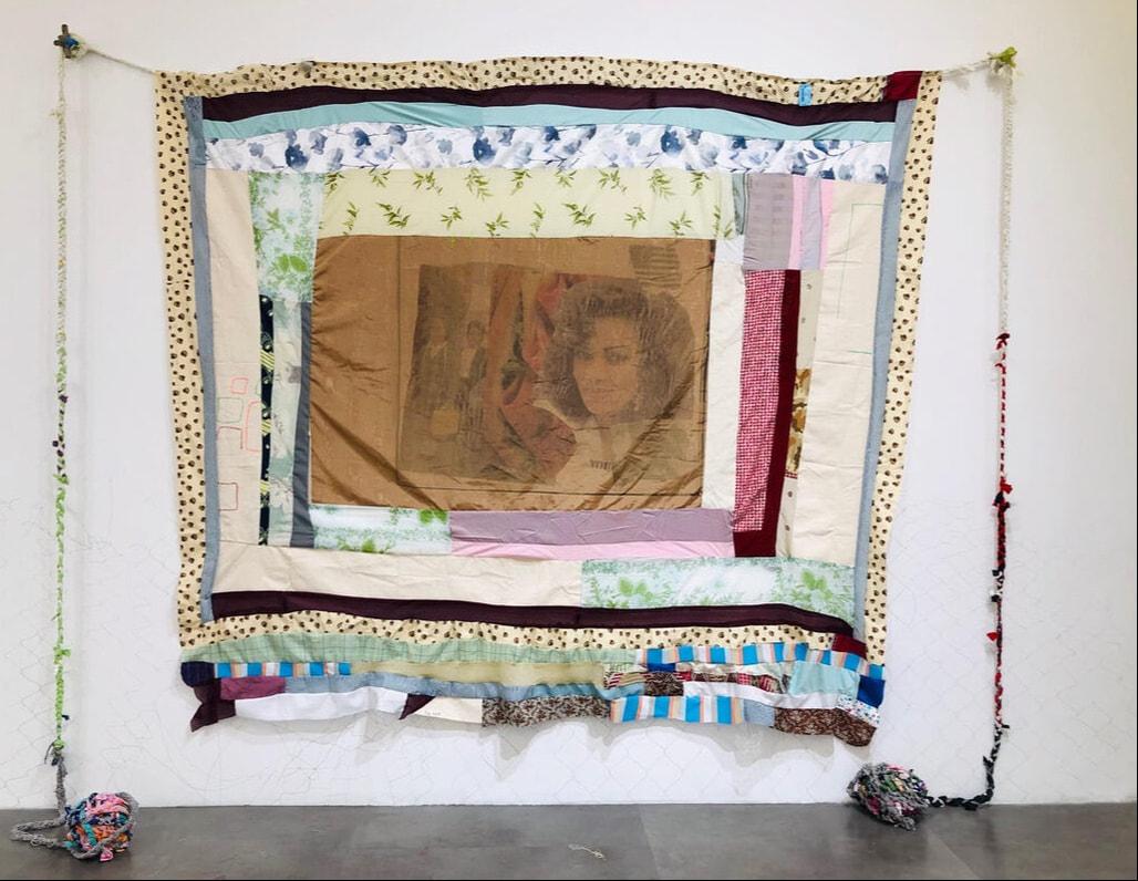 """Monkey's Uncle"" by T.J. Dedeaux-Norris, FKA Tameka Jenean Norris, at Mimmo Scognamiglio Artecontemperanea, 2019"