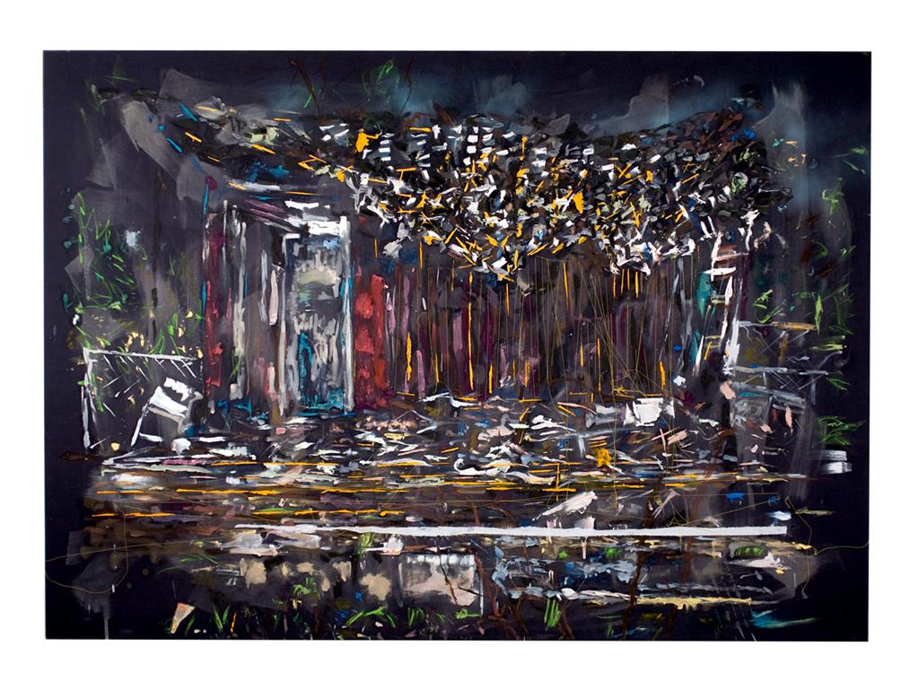 """""""Post Katrina #6"""" by T.J. Dedeaux-Norris, FKA Tameka Jenean Norris"""