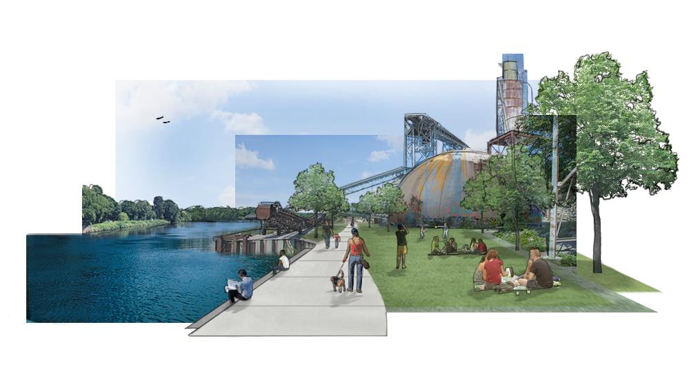 Upper Harbor Terminal Urban Renewal Master Plan by Mallory Sage