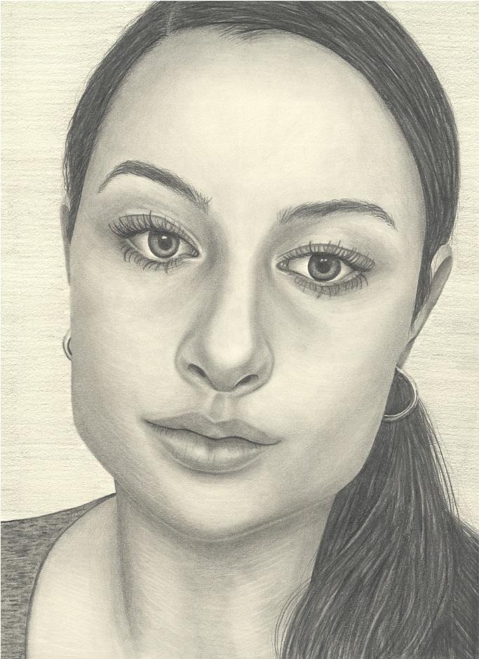 Self-Portrait by Madison Klocke