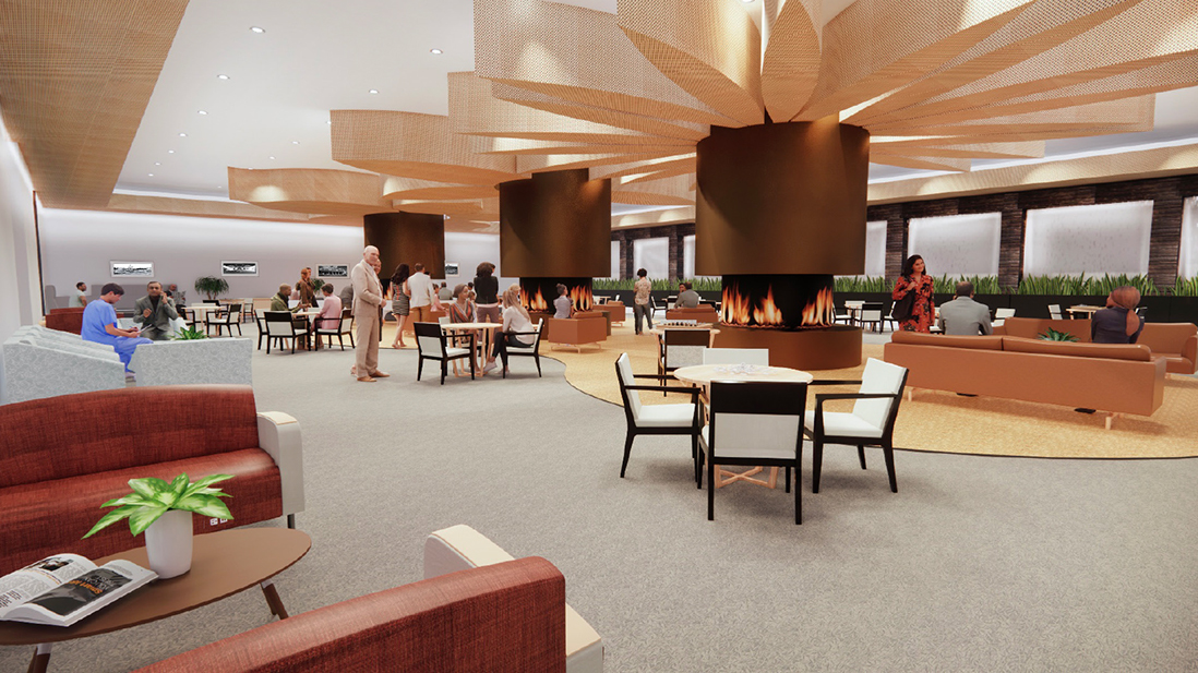 Verdure Continued Care Retirement Facility Lounge by Angelica Lebron Aponte